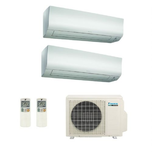 Daikin Air conditioning Multi 2MXS50H Heat Pump Inverter Running 2 x FTXS35K Wall Mounted A+++ 240V~50Hz